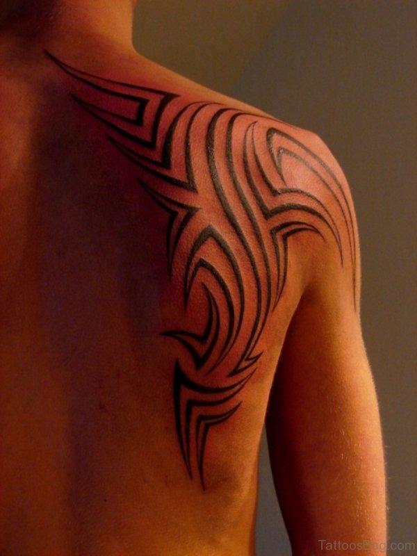 Stylish Tribal Tattoo Design