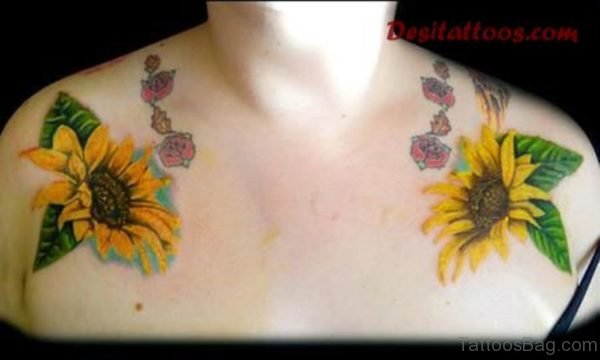 Sunflower Tattoo Picture