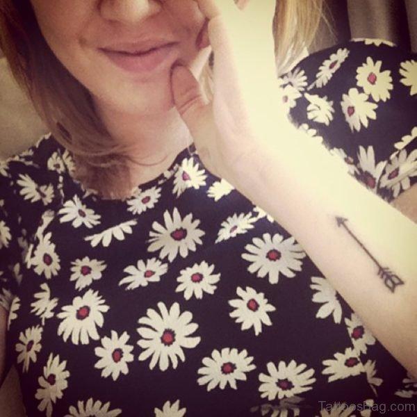 Superb Arrow Tattoo