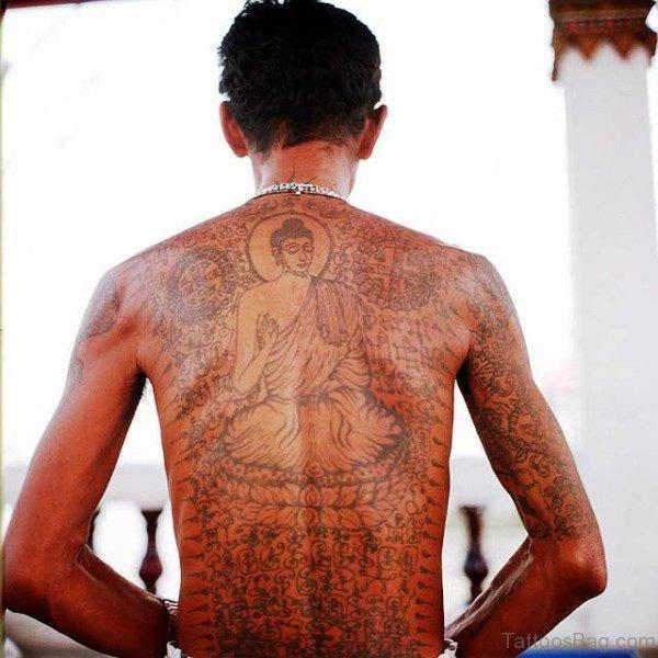 Superb Buddha Tattoo Design 1