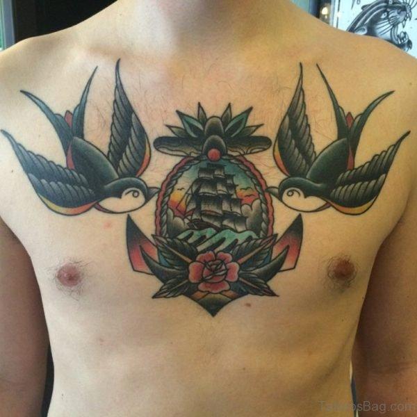 Swallow Tattoo Design
