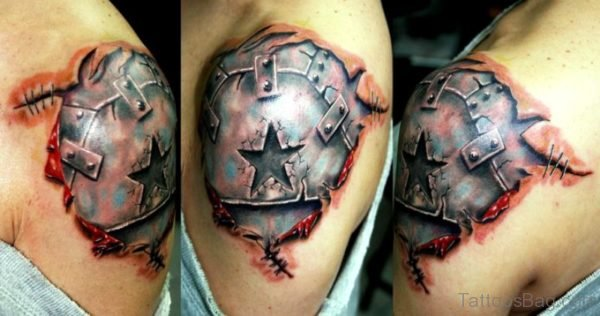 Sweet Armour Tattoo Design
