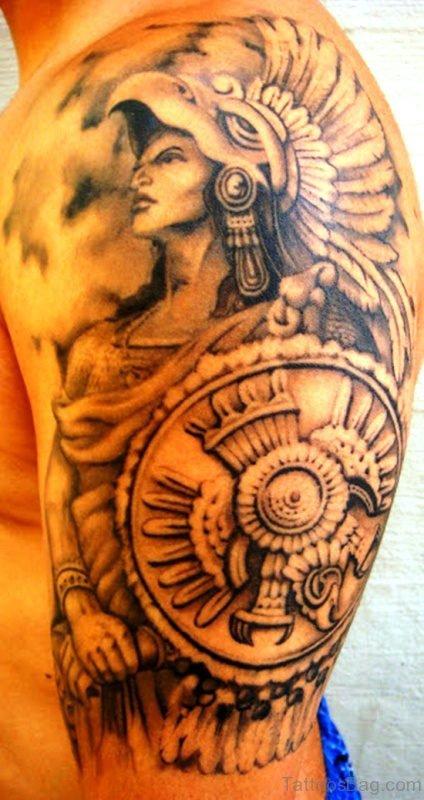 Sweet Aztec Tattoo