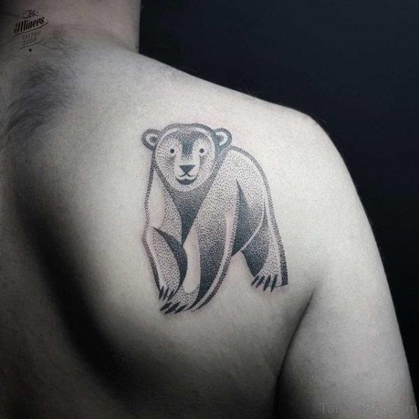 Sweet Bear Geometric Tattoo