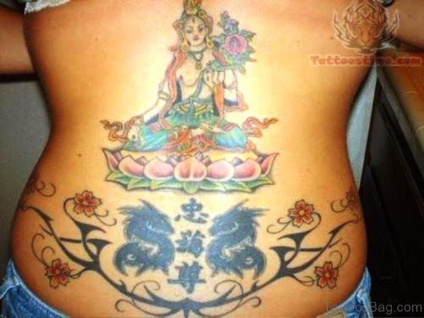 Sweet Buddha Tattoo Design 1
