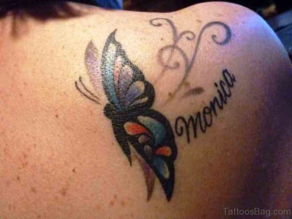 Sweet Butterfly Designer Tattoo