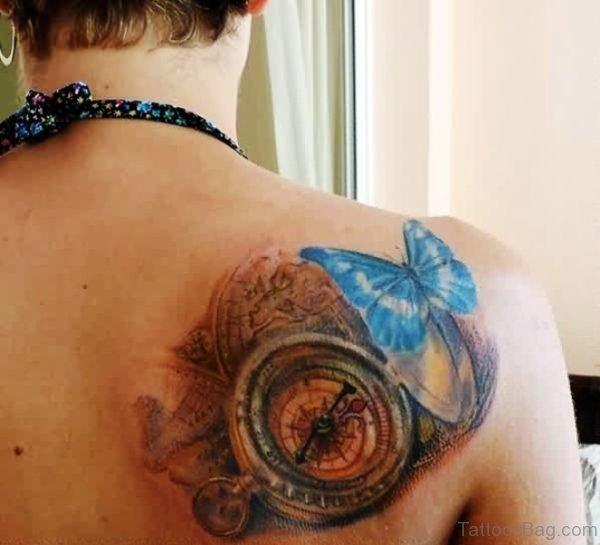 Sweet Butterfly Tattoo