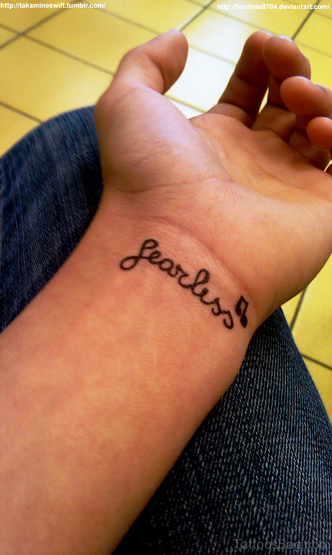 Sweet Fearless Tattoo
