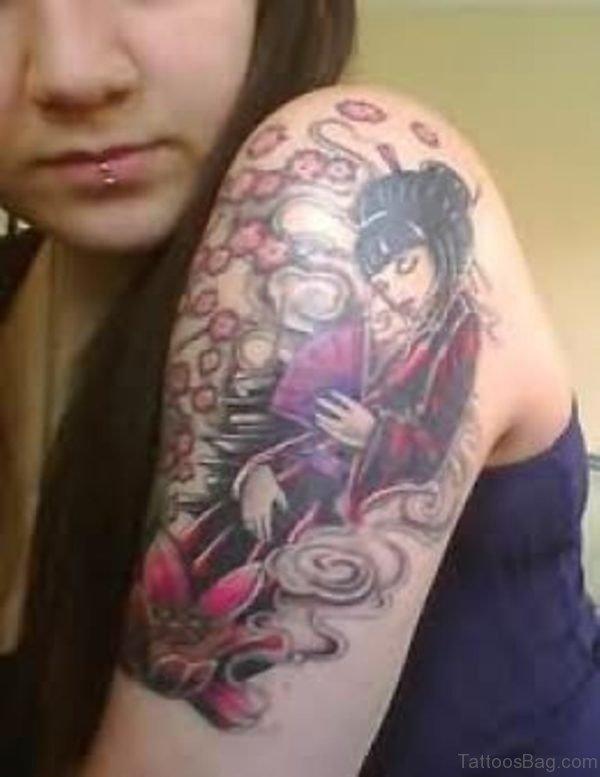 Sweet Geisha Tattoo