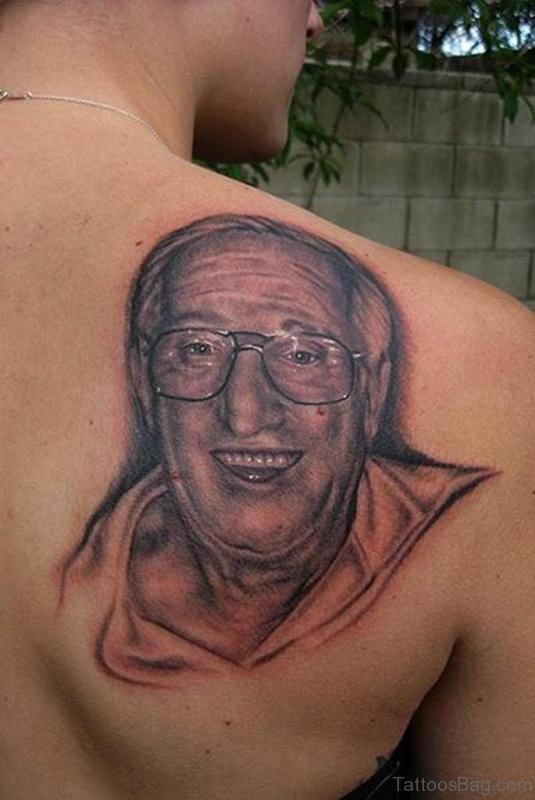Sweet Grandpa Image Tattoo