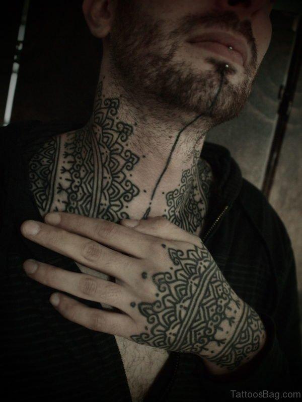 Sweet Henna Tattoo Design