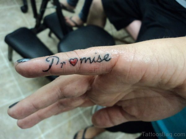 Sweet Tattoo Of Promise