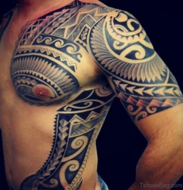 Tahitian Tribal Tattoo