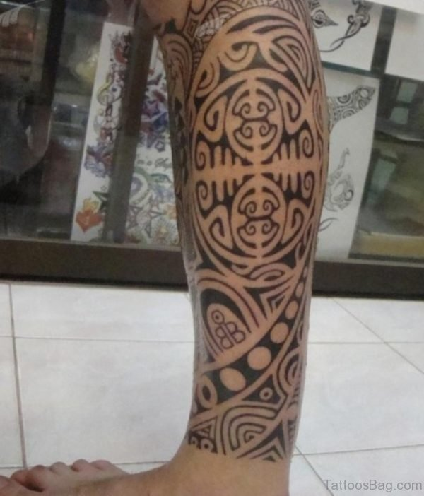 Taino Tribal Tattoo