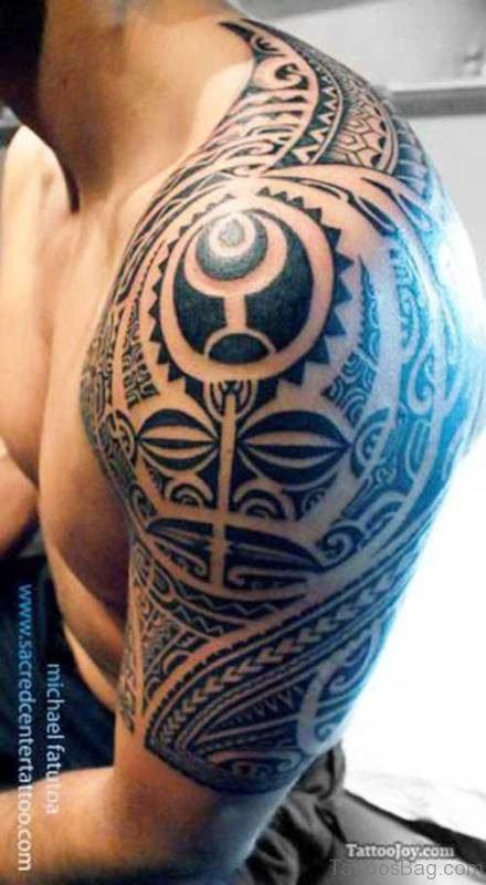 Tattoo Maori For Shoulder