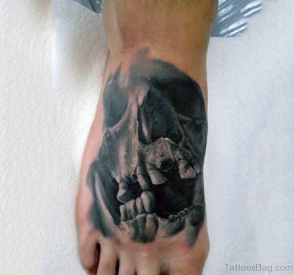 Terrific Skull Tattoo