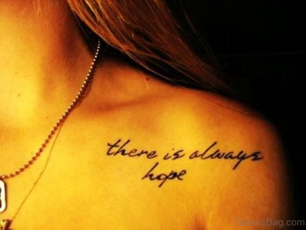 There Is Always Hope Tattoo