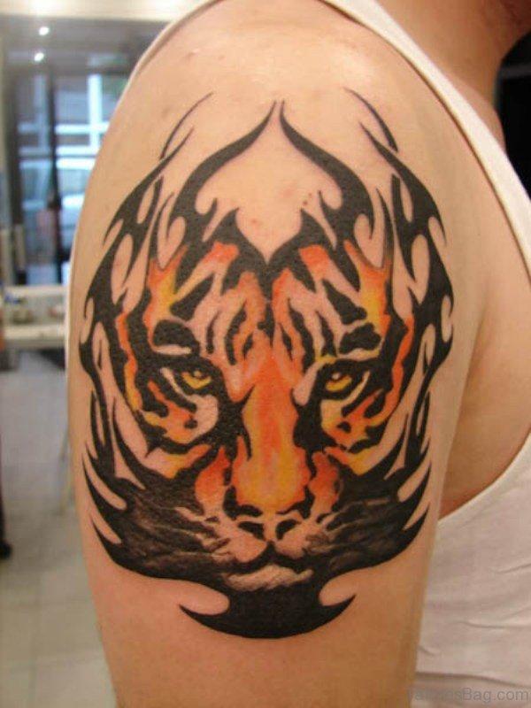 Tiger Tribal Tattoo