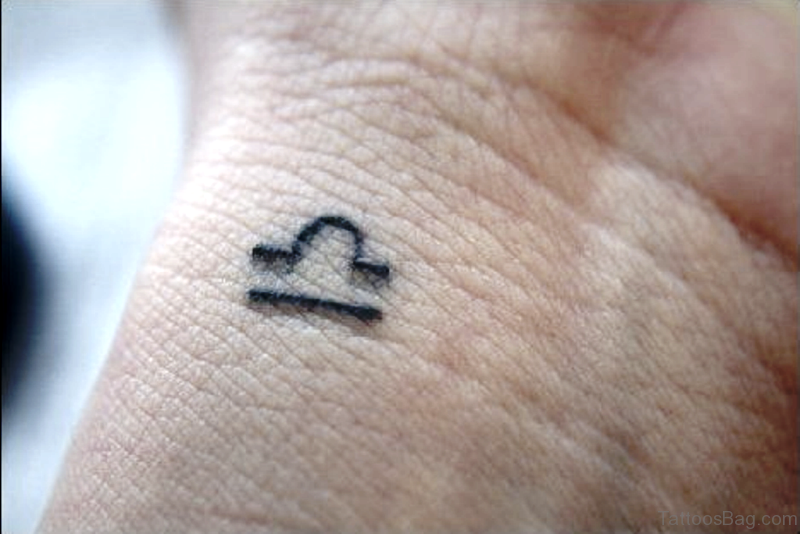 30 Splendid Libra Tattoos On Wrist