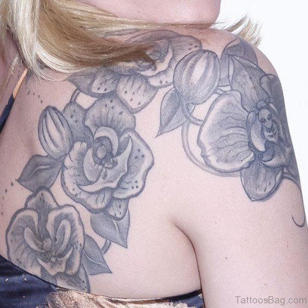 Trace Lysette Flower Tattoo