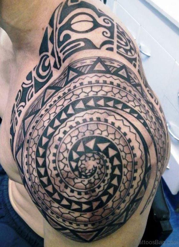 Traditional Maori Tattoo