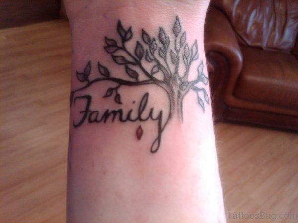 Tree And Family Tattoo
