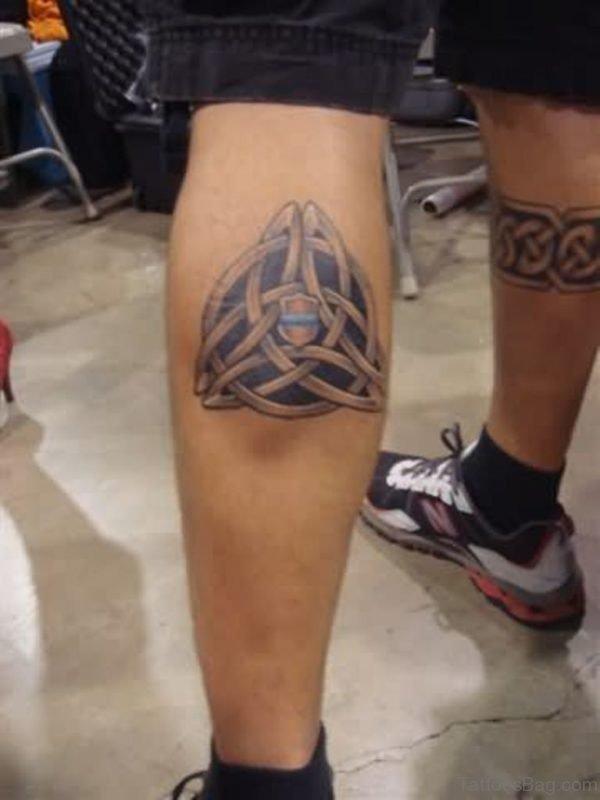 Trendy Celtic Tattoo