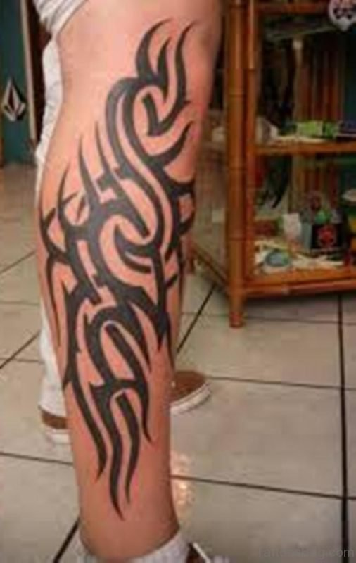 Trendy Tribal Tattoo