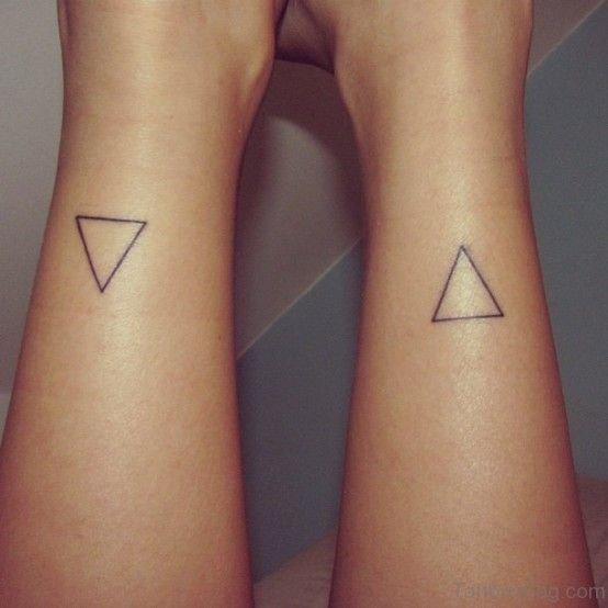 Triangle Symbol Tattoo