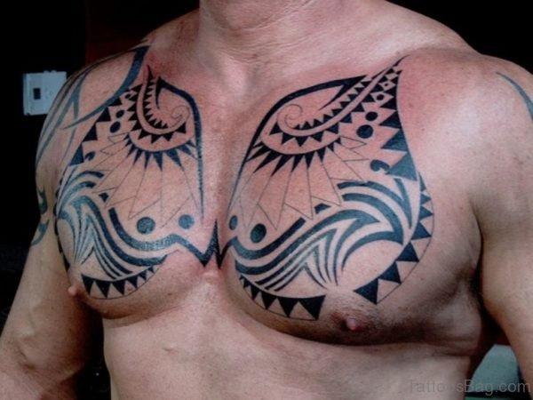 Tribal Aztec Tattoo Design