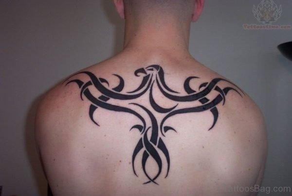Tribal Bird Tattoo Design
