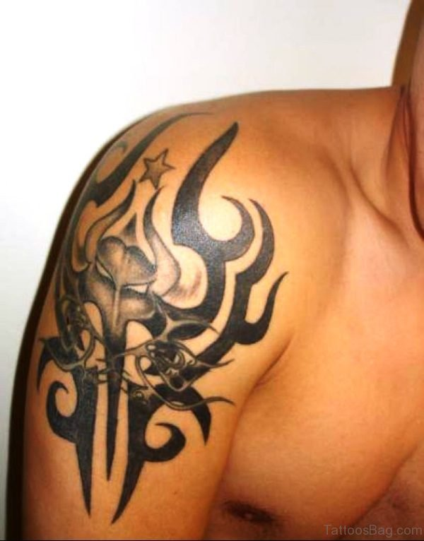 Tribal Bull Tattoo 3