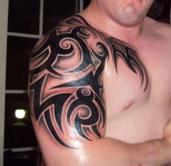 Tribal Half Sleeves Tattoo Design