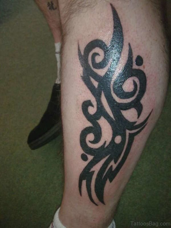 Tribal Maori Style Band Tattoo