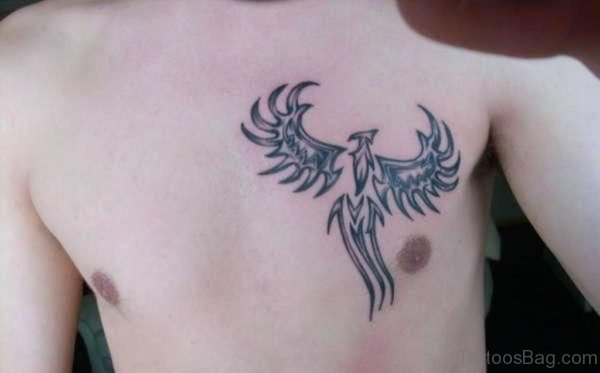 Tribal Phoenix Tattoo