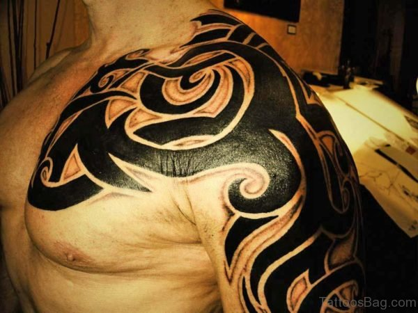 Tribal Shining Tattoo