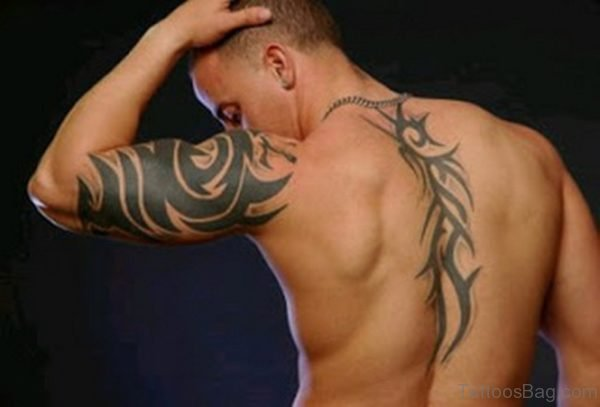 Tribal Shoulder Arm Tattoo