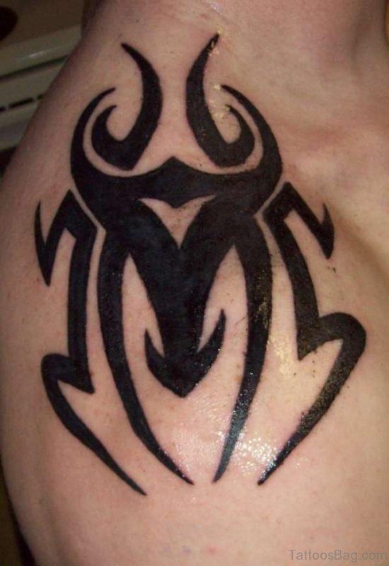 Tribal Shoulder Tattoo For Men