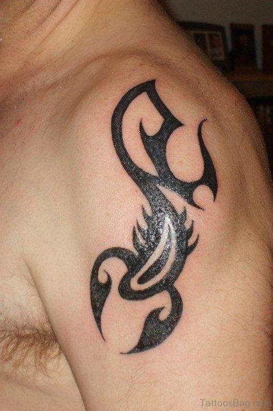 Tribal l Scorpion Tattoo Design