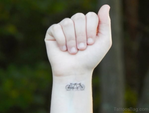 Two Cycle Wrist Tattoo