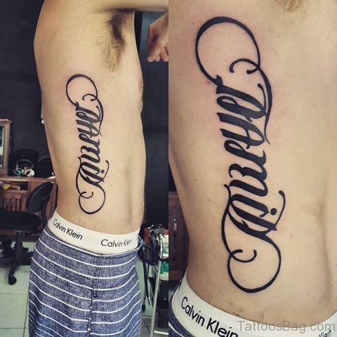 Ultimate Ambigram Tattoo Design