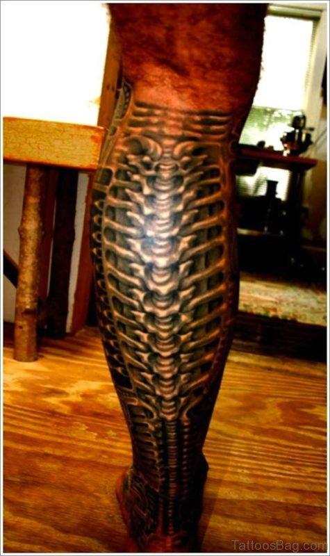 Ultimate Biomechanical Tattoo