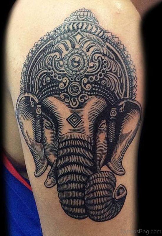 Ultimate Ganesha Tattoo