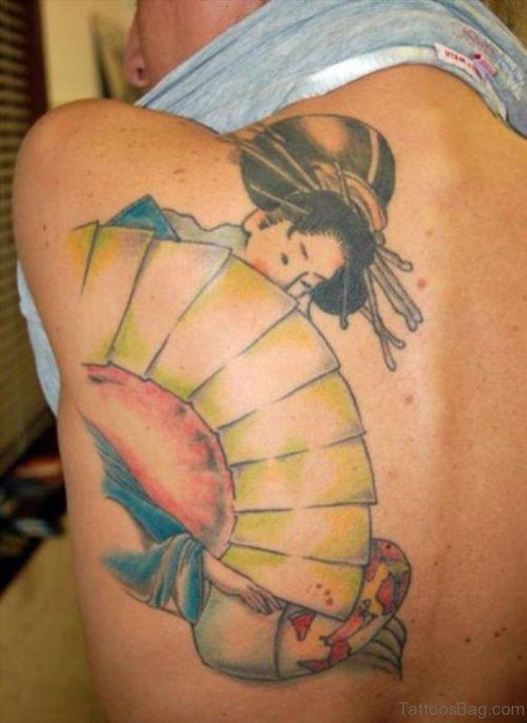 Ultimate Geisha Tattoo On Back