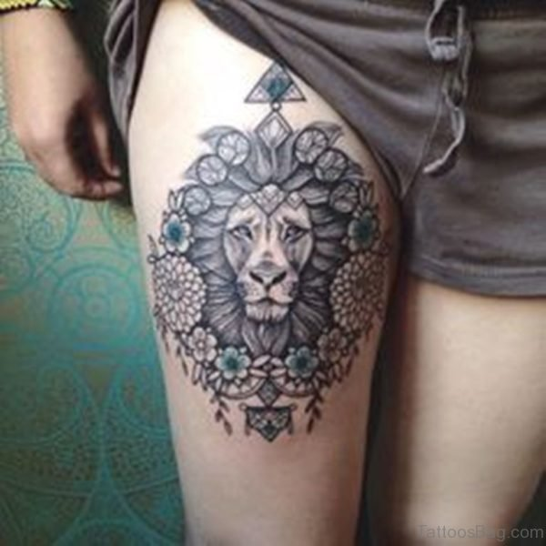 Ultimate Lion Tattoo Design