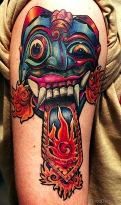 Ultimate Mask Tattoo
