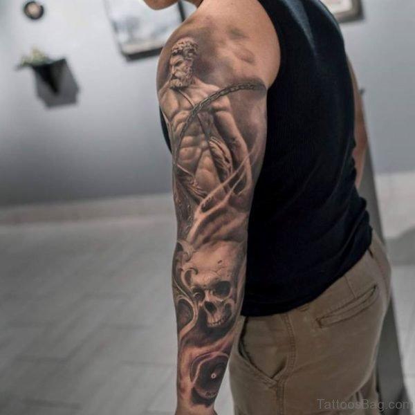 Ultimate Warrior Tattoo
