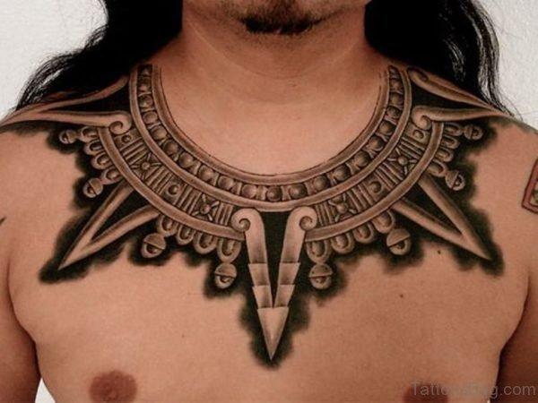 Unique Aztec Tattoo