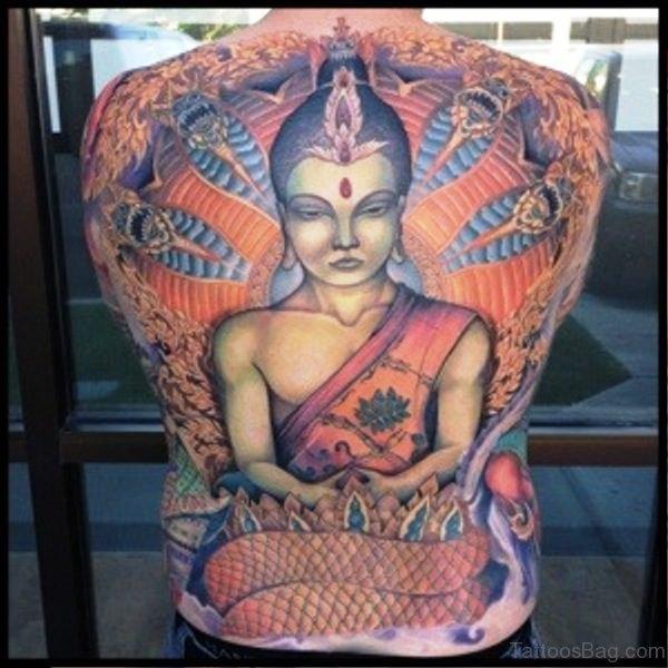 Unique Buddha Tattoo Design 1