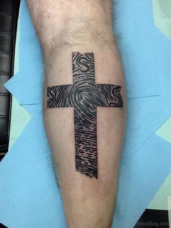 Unique Cross Tattoo